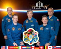 International Space Station Expedition 21 Official Crew Portrait #2